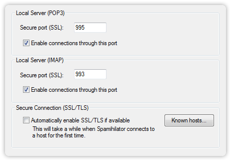SSL/TLS Settings